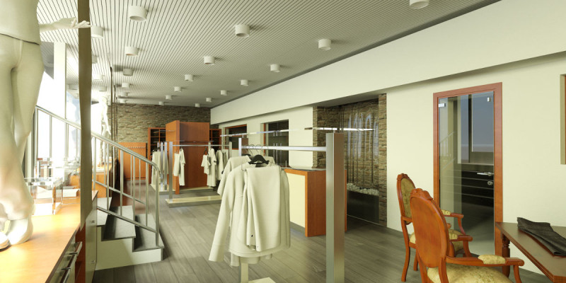 Arredamento per negozi Bergamo | Banchi, piani, mobili espositivi ...