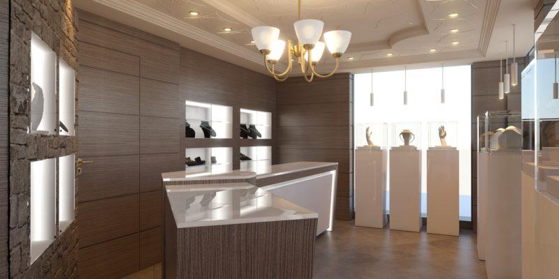 mobili su misura per negozi bergamo arredamento
