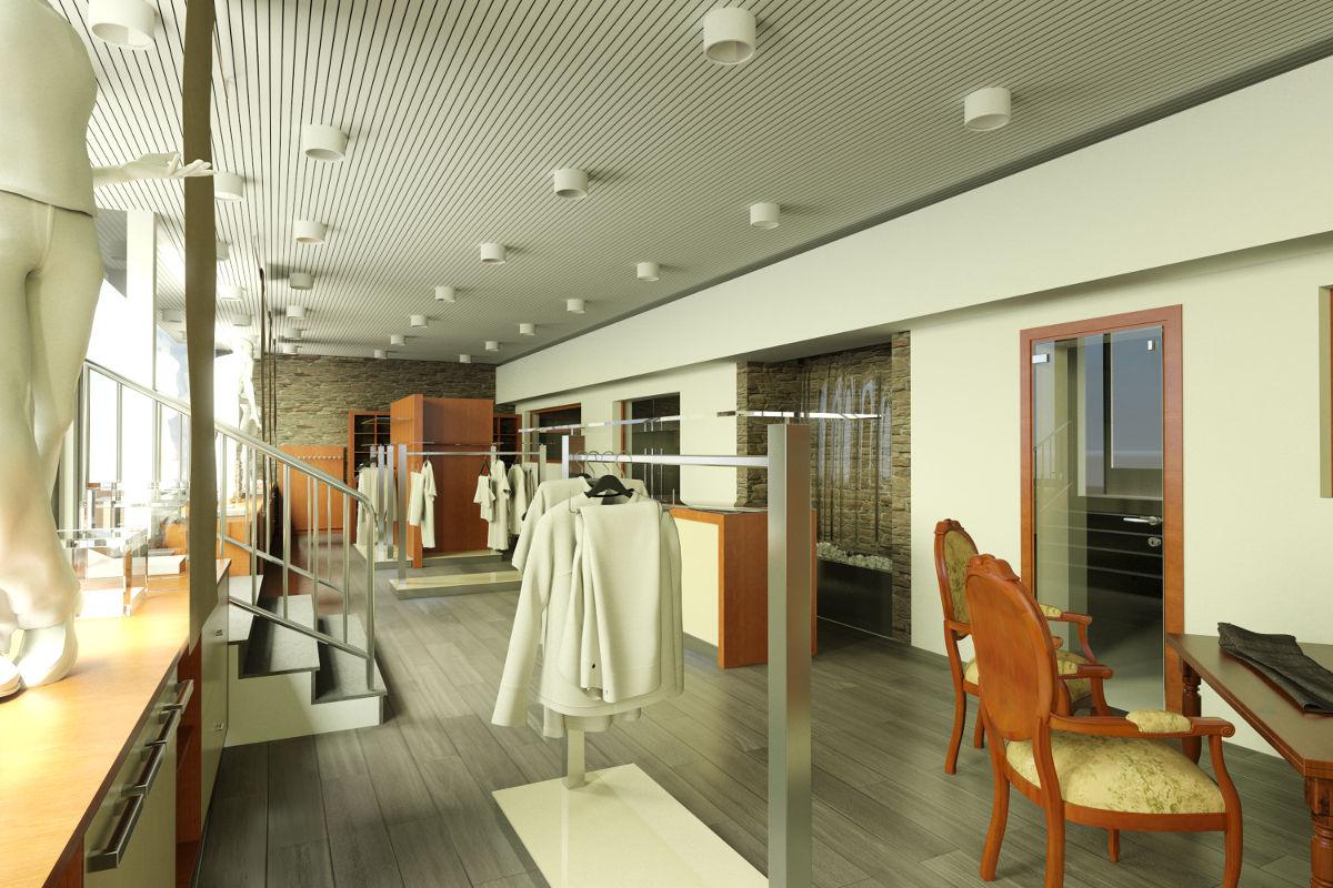 Arredamento per negozi bergamo banchi piani mobili for Vetrine in cristallo arredamento
